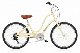 "Electra Kids Townie Original 7D 24"" Vanilla Ladies'"