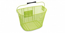 Electra Q/R Steel Mesh Basket, Green