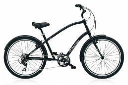 Electra Townie Original 21D black satin