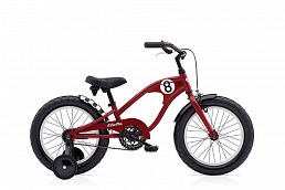 Electra Straight 8 Kids' 16'' Boys' Red