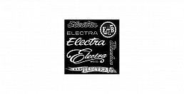 Electra STICKER SET (EBC Logos) 20cm x 20cm Sheet