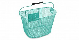 Electra Q/R Steel Mesh Basket, Light Blue