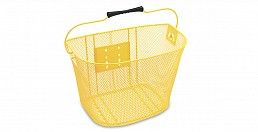 Electra Q/R Steel Mesh Basket, Yellow