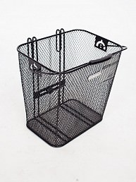Electra Steel Mesh Rear Rack Pannier Basket (black)
