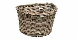Electra Wicker Basket, Kubu Grey