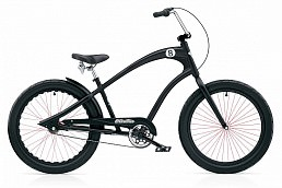 Electra Cruiser Straight 8 3i Black Satin