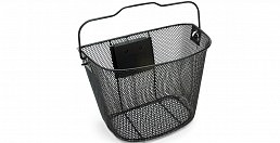 Electra Q/R Wire Basket,Black, incl. Q/R Bracket