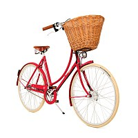 Pashley Britannia Red 8 speed Ladies'