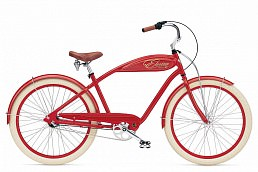 Electra Cruiser Indy 3i Red