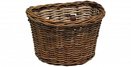 Electra Wicker Basket, Brown