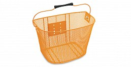 Electra Q/R Steel Mesh Basket, Orange,