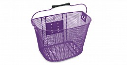 Electra Q/R Steel Mesh Basket, Purple